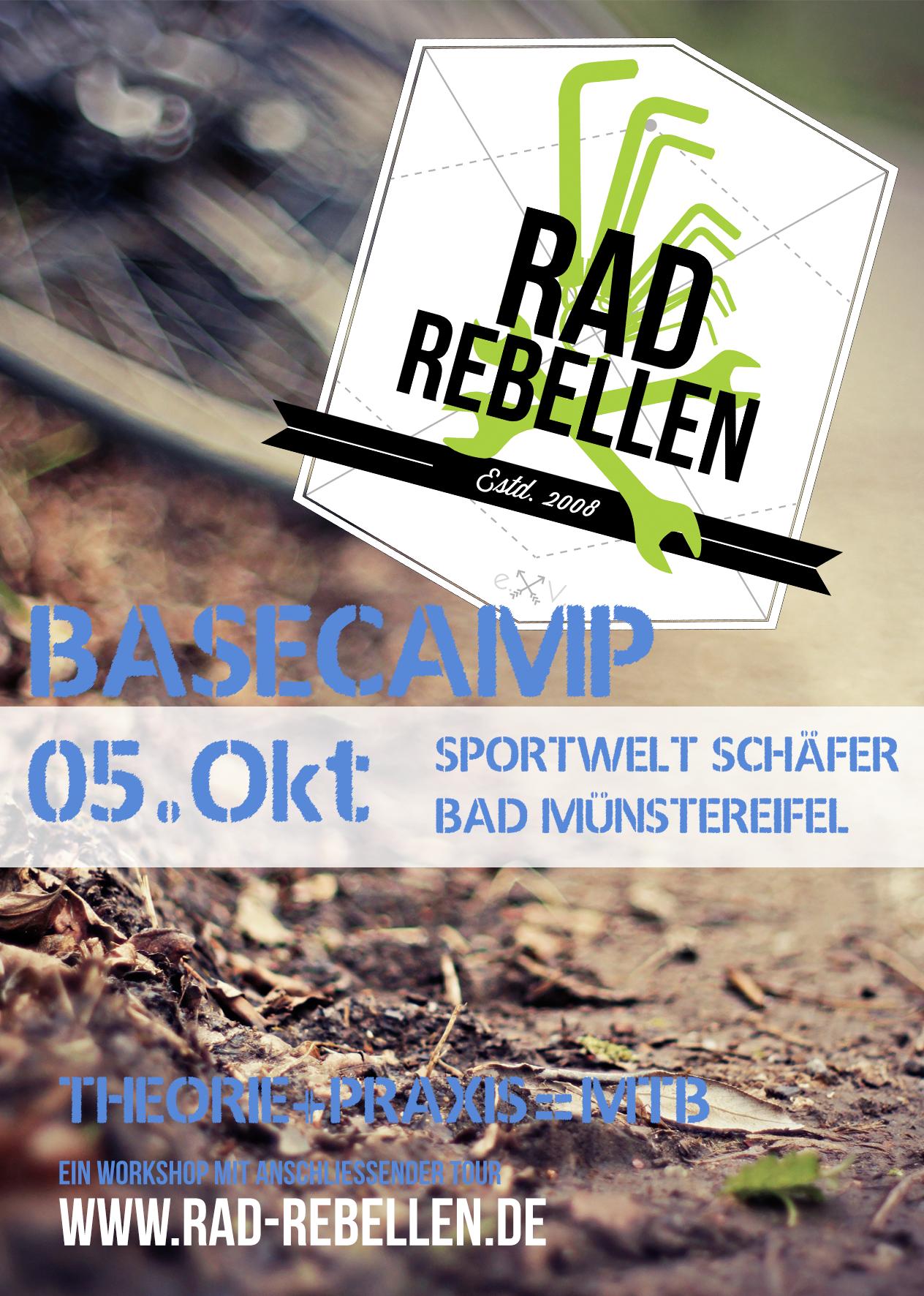 Like, share & spread – Der Basecamp-Flyer